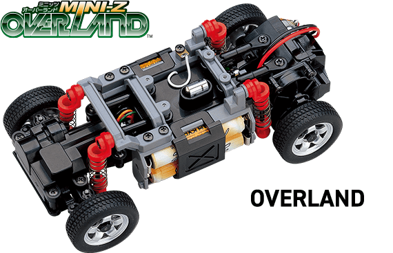 MINI-Z OVERLAND chassis